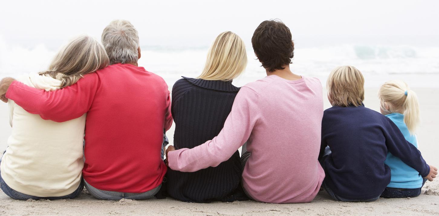 LifeSteps Financial Family On Beach Banner Image